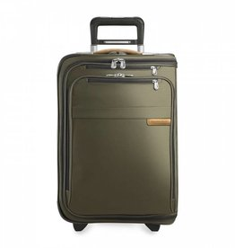 BRIGGS & RILEY OLIVE DOMESTIC UPRIGHT U.S. CARRYON GARMENT BAG