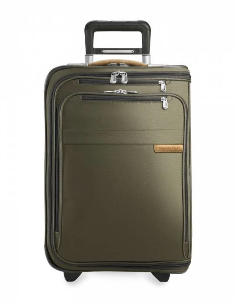 BRIGGS & RILEY U175-7 OLIVE DOMESTIC UPRIGHT U.S. CARRYON GARMENT BAG