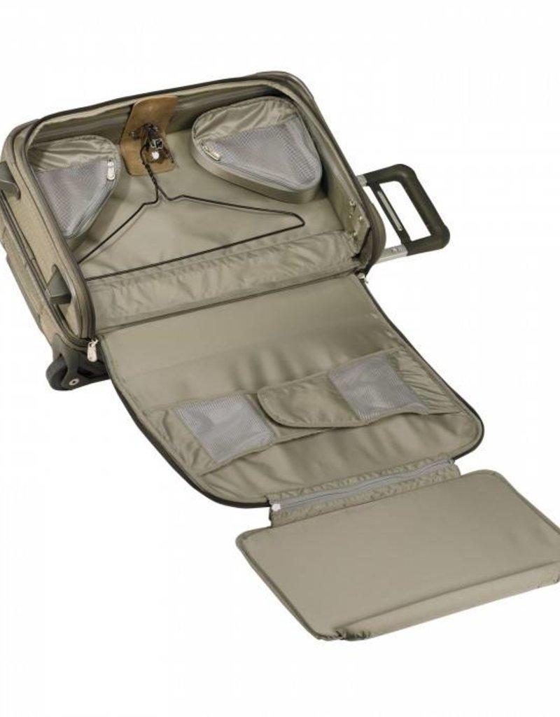 BRIGGS & RILEY U175-7 OLIVE DOMESTIC UPRIGHT U.S. CARRYON GARMENT BAG