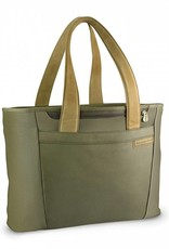 BRIGGS & RILEY 255-7 OLIVE LARGE SHOPPING TOTE