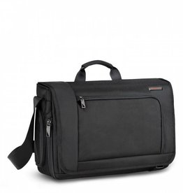 BRIGGS & RILEY BLACK DISPATCH MESSENGER