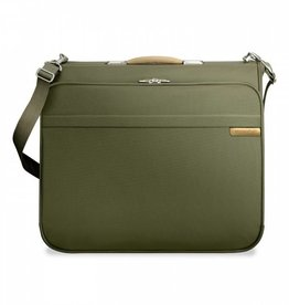 BRIGGS & RILEY OLIVE DELUXE GARMENT BAG