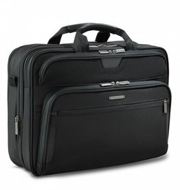 BRIGGS & RILEY BLACK LARGE EXPANDABLE BRIEF