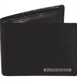 SWISS GEAR BLACK MENS WALLET RFID