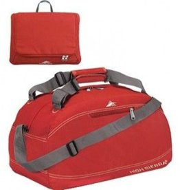 HIGH SIERRA RED 24 PACKNGO DUFFLE BAG