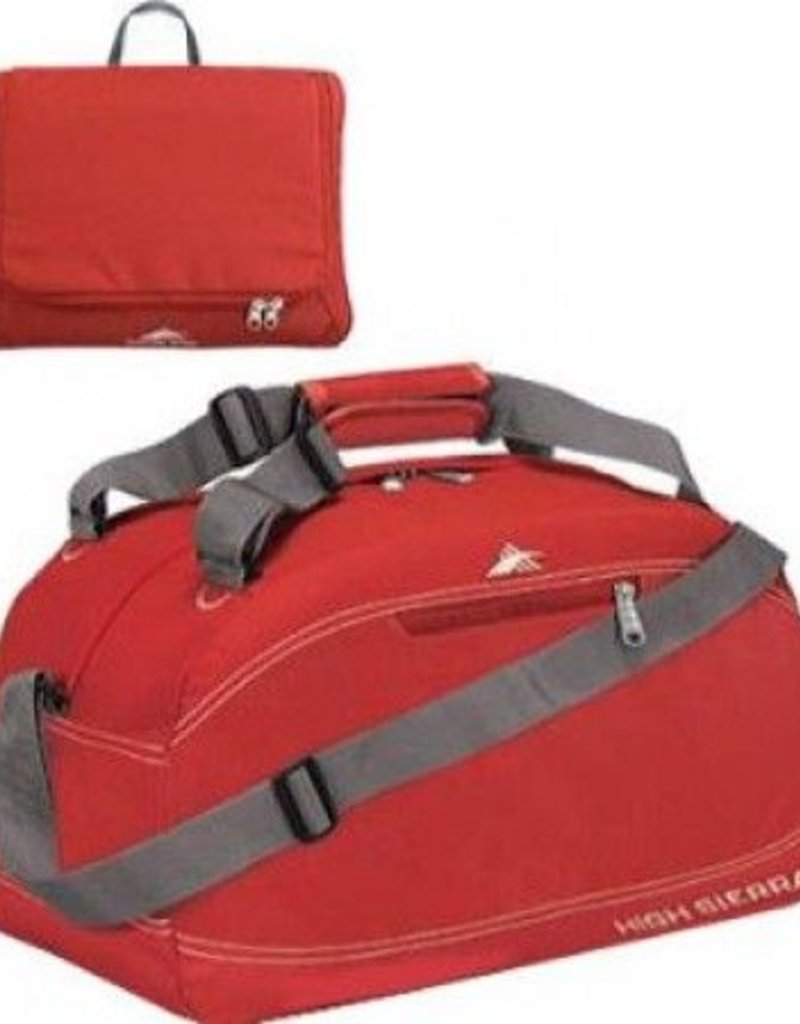 HIGH SIERRA 536083135 RED 24 PACKNGO DUFFLE BAG