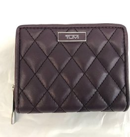 TUMI AUAUBERGINE LADIES CARD WALLET