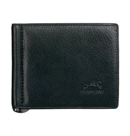 MANCINI LEATHER BLACK MENS LEATHER WALLET