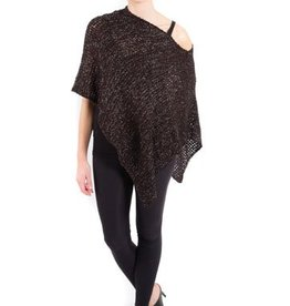 SHARANEL CAPLET SOFTKNIT BLACK