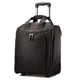 SAMSONITE WHEELED UNDERSEATER LARGE BLACK
