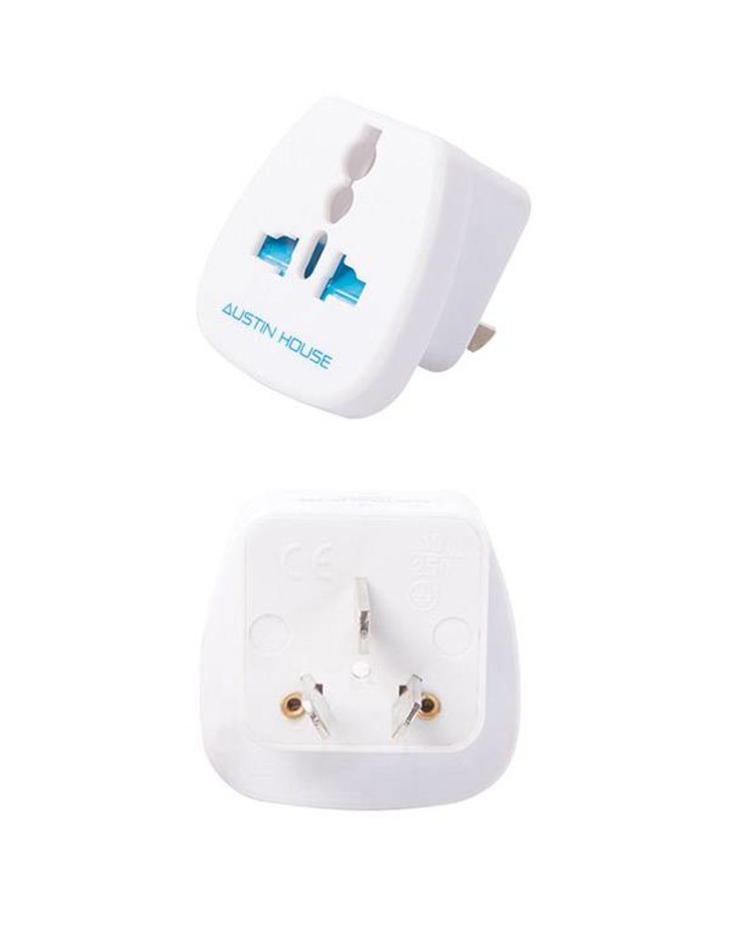 AUSTIN HOUSE AH12AU01 AUSTRALIA/NEW ZEALAND GROUNDED ADAPTER