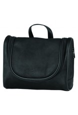 MANCINI LEATHER 98202 COGNAC LEATHER TOILETRY BAG