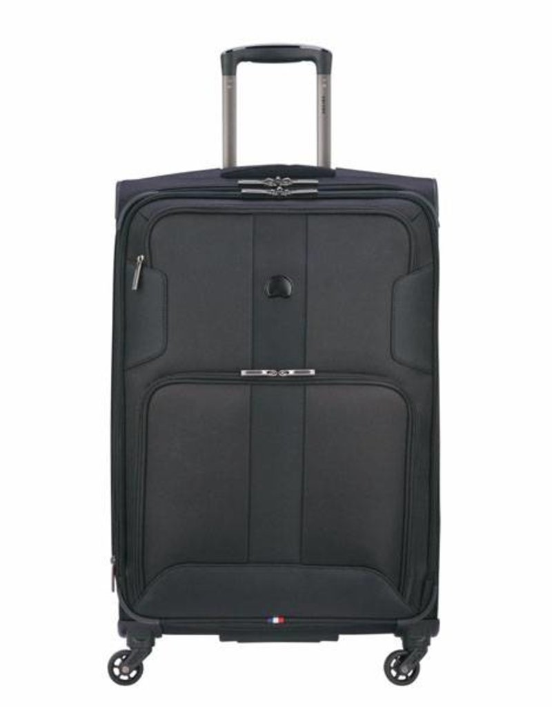 DELSEY 32280 BLACK 19 CARRYON SPINNER