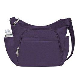 TRAVELON Cross-Body Bucket Bag PURPLE
