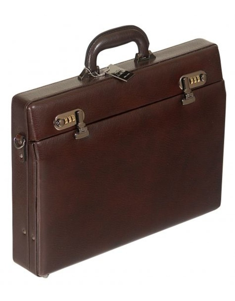 MANCINI LEATHER 86465 LEATHER ATTACHE