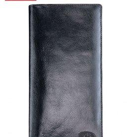 MANCINI LEATHER RFID BLACK LADIES LEATHER WALLET