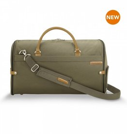 BRIGGS & RILEY OLIVE SUITER DUFFLE