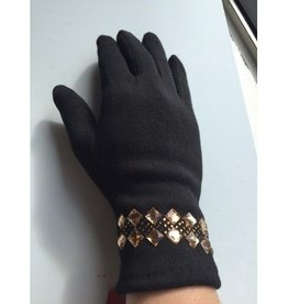 PARIS GLOVES BLACK GLOVE ONE SIZE