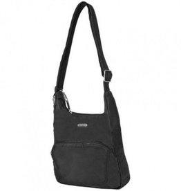 TRAVELON Messenger Bag BLACK