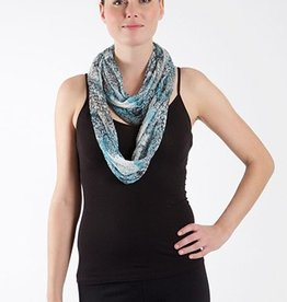SHARANEL INFINITY SCARF DRAGON GREEN