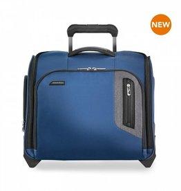 BRIGGS & RILEY BLUE ROLLING CABIN BAG