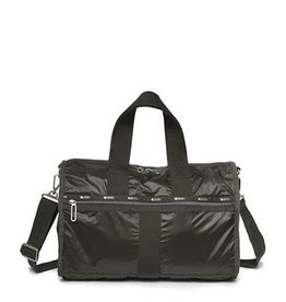 LESPORTSAC TRUE BLACK DUFFLE BAG