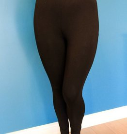 PAPA FASHIONS IMPORTS BAMBOO LEGGING BLACK