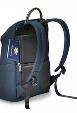 BRIGGS & RILEY ZP130-5 NAVY SMALL WIDE MOUTH BACKPACK