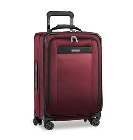 BRIGGS & RILEY MERLOT TALL CARRYON U.S. EXPANDABLE UPRIGHT
