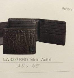Hidesign RFID BROWN LEATHER WALLET