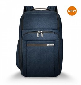 BRIGGS & RILEY NAVY LARGE BACKPACK
