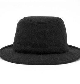 TILLEY GREY BLACK 7 1/2  HAT