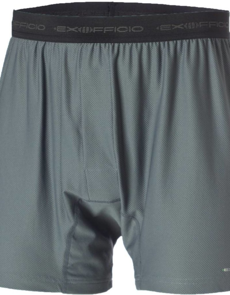 EXOFFICIO 12412171 MEDIUM CHARCOAL GIVE N GO BOXER