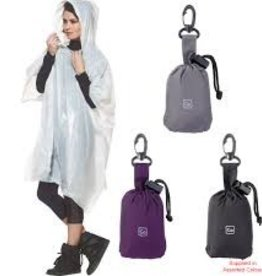 CLEAR IMAGE PONCHO AND POUCH