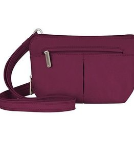 TRAVELON Convertible Crossbody and Waist Pack  BERRY