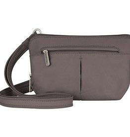 TRAVELON Convertible Crossbody and Waist Pack MOCHA