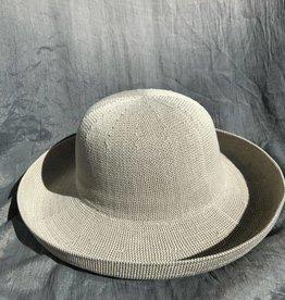 PARKHURST 17200 WHITE BISCAYNE BOWLER HAT