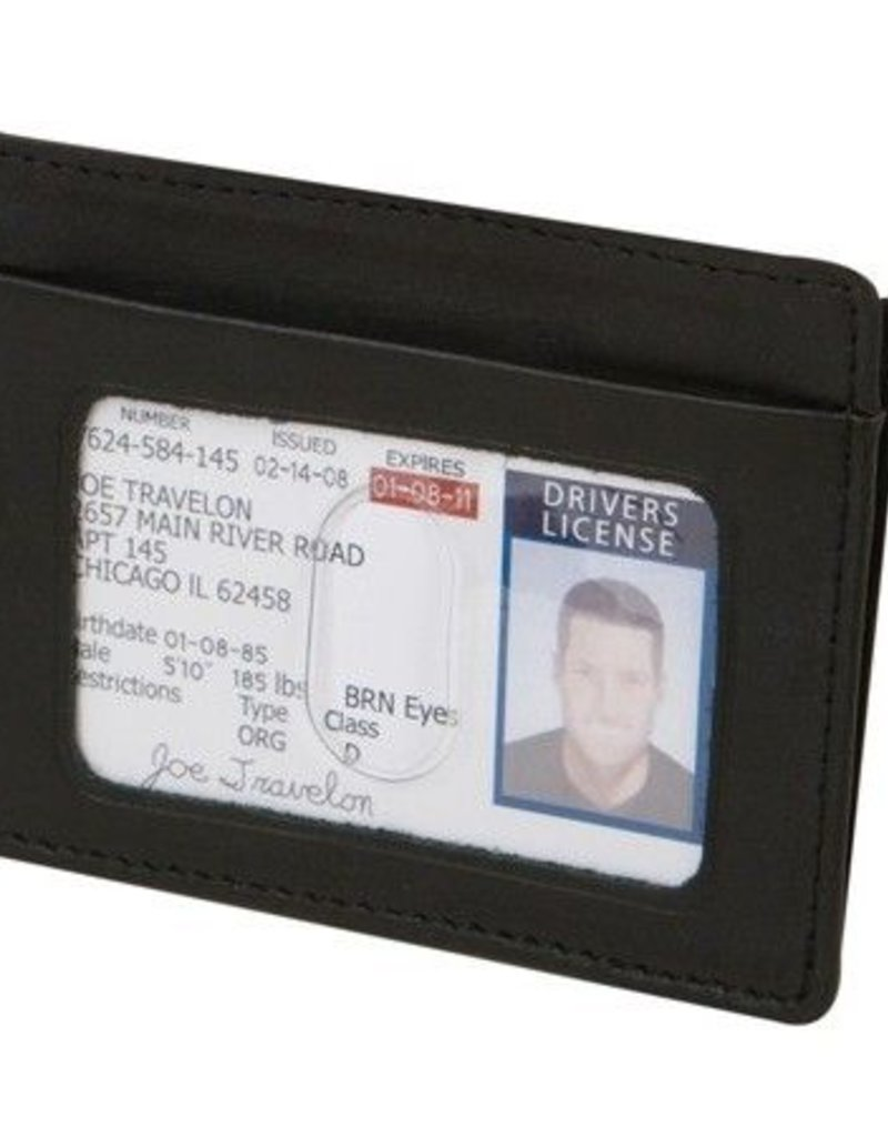 TRAVELON 72488 RFID CASH AND CARD SLEEVE