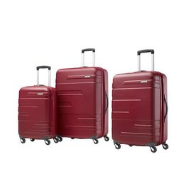 SAMSONITE BURGUNDY 21 CARRYON SPINNER