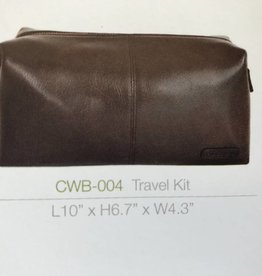 Hidesign BROWN TOILETRY LEATHER