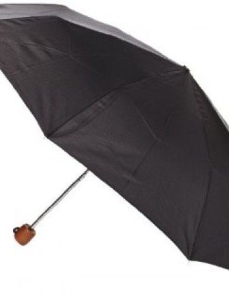 FULTON L449 STOWAWAY BLACK UMBRELLA