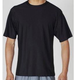 EXOFFICO LARGE BLACK  ROUND NECK T SHIRT