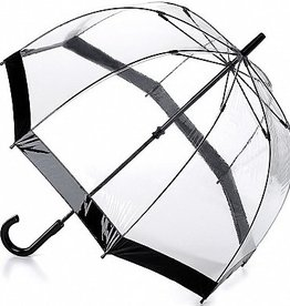FULTON BLACK BIRDCAGE UMBRELLA