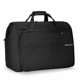 BRIGGS & RILEY BLACK FRAMED WEEKENDER
