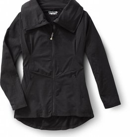 ROYAL ROBBINS Essential Zip-Up SMALL BLACK