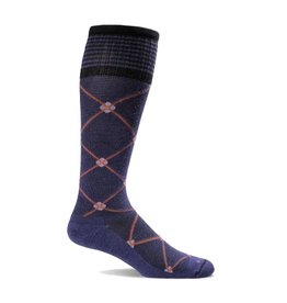 SOCKWELL SMALL/MEDIUM Elevation Purple