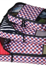 PC307 GINGHAM PACKING CUBE SET