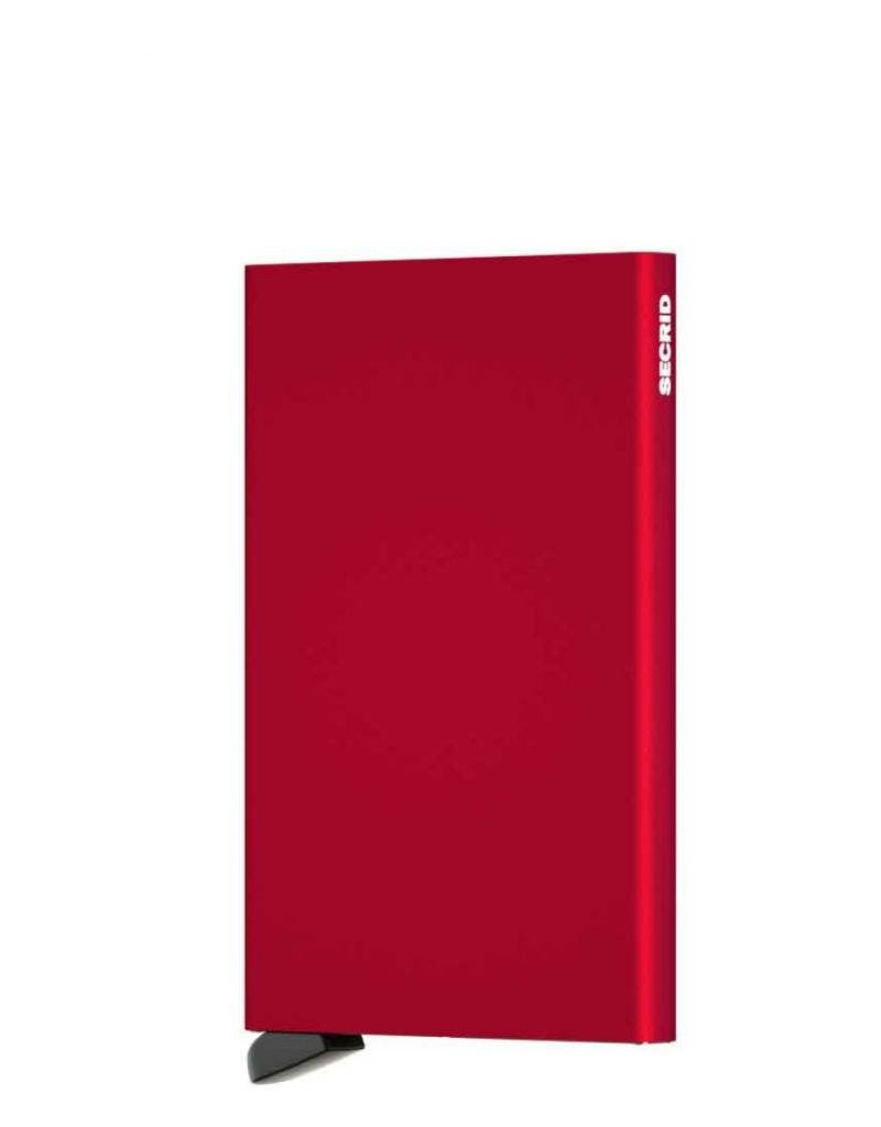 SECRID CARDPROTECTOR RED METAL