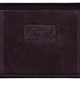MANCINI LEATHER BLACK LADIES LEATHER WALLET