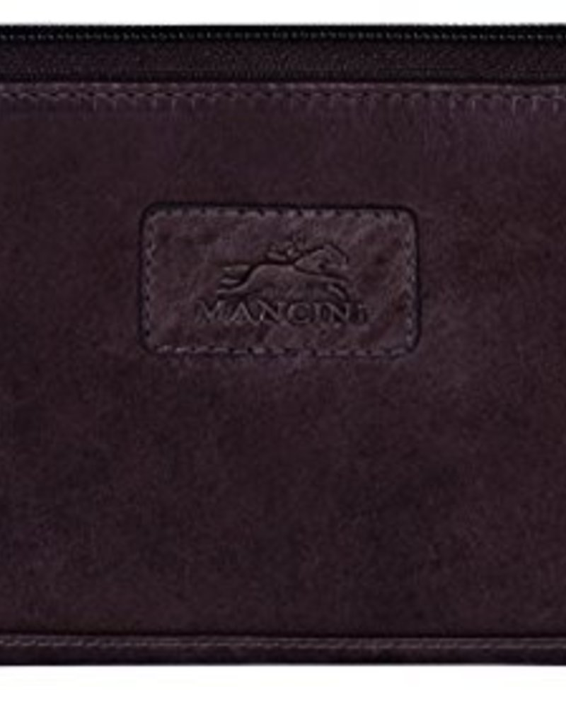 MANCINI LEATHER 8700200 BLACK LADIES LEATHER WALLET